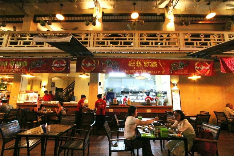 いつきても人気のレストラン。日本人客を多く抱える